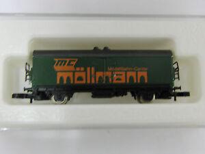 Maerklin-Werbewagen-034-Mc-Moellmann-034-unbespielt-in-Verpackung-Selten