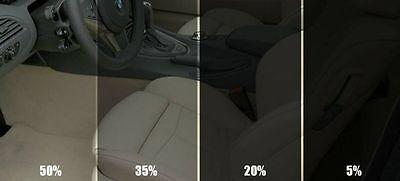 CAR AUTO  OFFICE WINDOW TINT FILM KIT SUPER DARK  BLACK 5% 50X300CM
