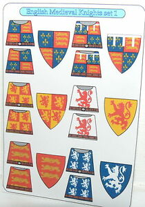 18-Custom-stickers-for-lego-castle-kingdoms-KNIGHTS-english-medieval-knight