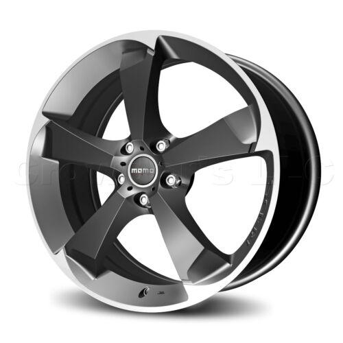 MOMO Car Wheel Rim Drone Anthracite 17 x 7.5 inch 5 on 112 mm DR75751245A