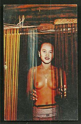 Sarawak nude Dayak Girl BEAUTY Borneo Malaysia 50s