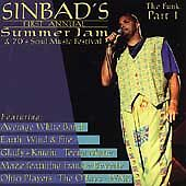 VARIOUS-SINBAD-039-S-FIRST-ANNUAL-SUMMER-JAM-amp-70-039-S-SOUL-MUSIC-FESTIVAL-CD