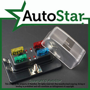 s l300 4 way blade fuse box 1 positive bus in led warning apr atc ato 12v atm fuse box at nearapp.co