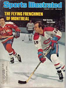 1977-Feb-7-Sports-Illustrated-hockey-magazine-Guy-LaFleur-Montreal-Canadiens