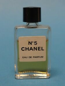 vintage chanel no 5 mini eau de parfum rare flacon ebay. Black Bedroom Furniture Sets. Home Design Ideas