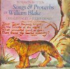 Britten: Songs & Proverbs of William Blake (2010)