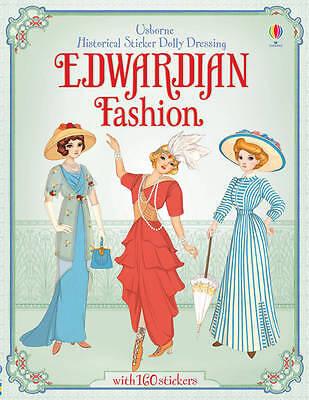 Sticker Dolly Dressing Historical Edwardian Fashion, Paperback By Bone, Emily