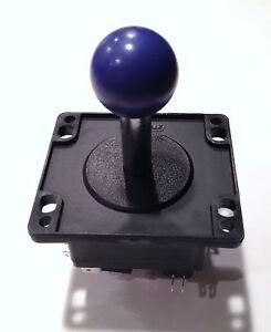 PURPLE-BALL-TOP-JOYSTICK-4-OR-8-WAY-WOOD-OR-METAL-CONTROL-PANELS
