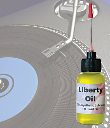 The best 100% Synthetic Oil For Lubricating Technics Turntables!!