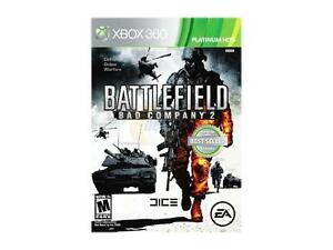 2 game lot xbox 360 battlefield bad company bundle 1 and 2