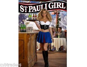 St Pauli Girl Beer Advertising Refrigerator Tool Box