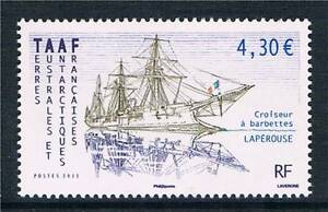 French-Antarctic-TAAF-2011-Barbette-La-Perouse-1v-MNH