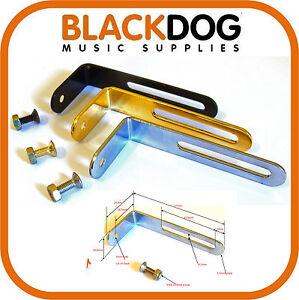 guitare-scratch-PLAQUE-PICKGUARD-support-en-Chrome-Dore-ou-noir-y-compris-vis