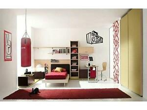 BOOMBOX Radio Rock Music Boys Girls Bedroom Kids Wall Decal Sticker