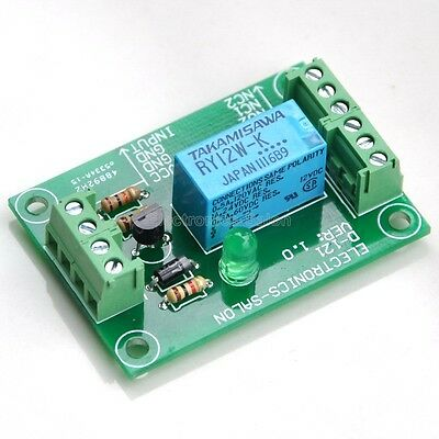 DPDT Signal Relay Module, 12Vdc, TAKAMISAWA RY12W-K Relay. Has Assembled.