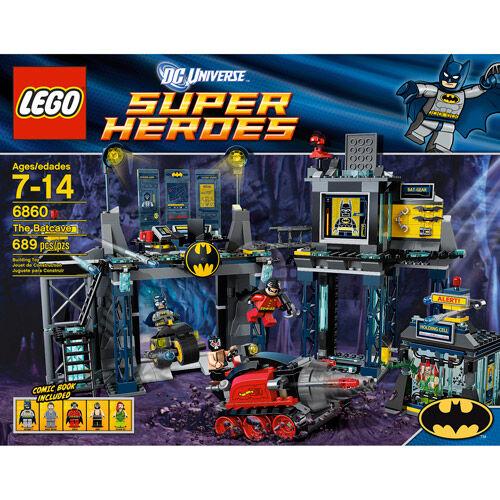 Lego Super Heroes 6860 The Batcave Die Bathöhle NEU OVP B Ware