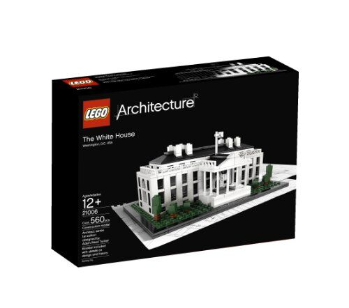 LEGO 21006 Architecture The White House  BRAND NEW