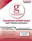 Foundations of GMAT Verbal by Manhattan GMAT (Paperback, 2011)