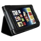 AGPtek Black Protective Leather Case Cover With Built-in Stand (IA20BCB) for Barnes & Noble Nook Tablet Color