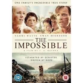 Details about THE IMPOSSIBLE (Tsunami Movie) DVD - REGION 2 UK