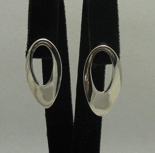 Silber Ohrringe 925 ELLIPSE  E000199