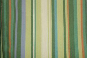 Twin Duvet Cover Meadow Green Resort Stripe Yarn Dyed