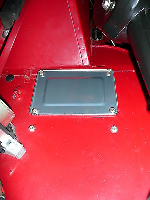 MG Midget Mk3 Austin Mk4 Blanking Cover Plate STAINLESS AHA8145 NEW