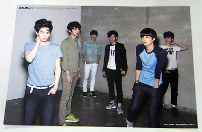 EXO-K - MAMA (1st Mini Album) OFFICIAL POSTER (with Tube Case)