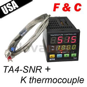 Dual-Digital-F-C-PID-Temperature-Controller-Control-TA4-SNR-with-K-thermocouple