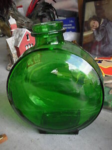 Vintage-Green-Glass-Bottle-Sunsweet-PAt-Appld-For-MArked