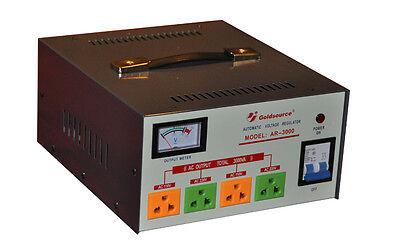 3000 Watt Voltage Converter Transformer Step Up /Down   GOLDSOURCE AR-3000