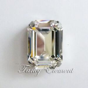 Swarovski-Genuine-4610-14x10mm-Rhinestone-Crystal-Rectangle-Fancy-Sew-On-Stone