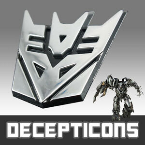 3D-Transformer-DECEPTICONS-Emblem-Badge-Sticker-Decal-Chrome-Car-Motorcycle