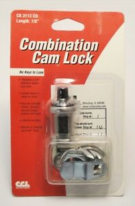 "CCL Combo Cam Lock 7/8"" KEYLESS Cabinet Combination New ..."