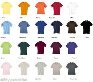 Hanes-NEW-Mens-Size-S-M-L-2XL-3XL-4XL-Tees-100-ComfortSoft-5280-Cotton-T-Shirt