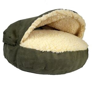 SNOOZER LUXURY COZY CAVE DOG CAT NESTING PET BED SMALL LARGE EXTRA LARGE XL NEW