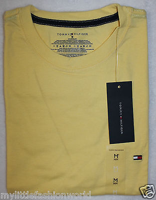 New TOMMY HILFIGER Men's Classic Fit Solid SS Crew Neck T-Shirt Various Sizes