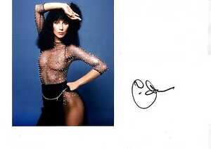 Cher-SEXY-signed-autograph-card-UACC-AFTAL