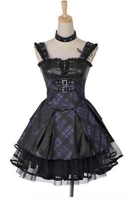 Fashion Visual kei Punk Cosplay sweet Nana Princess dress S-XL free shipping
