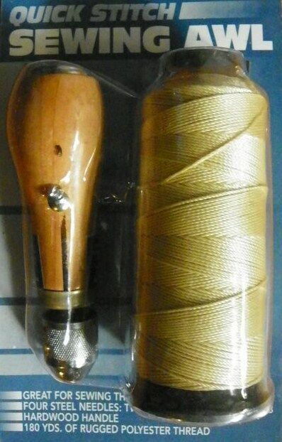New SEWING AWL KIT hand stitch Sails leather canvas repair