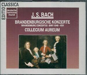 COFFRET-2-CDS-CLASSIQUE-BACH-BRANDENBURGISCHE-KONZERTE-COLLEGIUM-AUREUM
