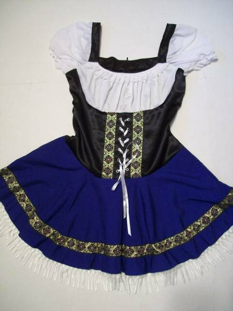 SEXY Swedish Holland German Oktoberfest Dutch Dress Octoberfest Size Medium (M)