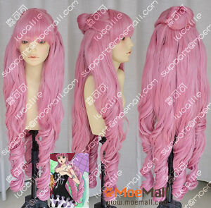 One-Piece-Perona-2-Years-Later-Ver-Pink-90cm-Cosplay-Party-Wig-w-Ponytails