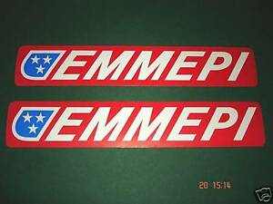 2 AUTHENTIC EMMEPI STICKERS  DECALS  AUFKLEBER - <span itemprop=availableAtOrFrom>S.E. England, United Kingdom</span> - Any item may be returned in unused and original condition for a refund within 14 days of receipt. Terms and Conditions; In the event of making a return the following conditions will  - S.E. England, United Kingdom