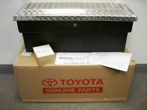 Toyota Tacoma Small Side Storage Box Genuine Oem Oe Ebay