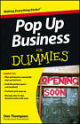 Pop-Up Business For Dummies by Dan Thompson (Paperback, 2012)