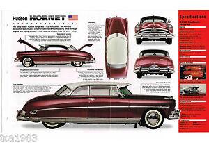 1951/1952/1953/1954 Hudson Hornet Imp Brochure