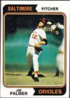 1974 Topps Jim Palmer Baltimore Orioles #40 Baseball Card