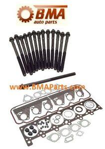 Bmw 328i Brake Pads BMW E30/E34 HEAD GASKET SET W/HEAD BOLT SET - M20 ENGINES - OEM REINZ ...