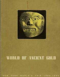 Catalog-Pre-Columbian-Ancient-Gold-Peru-Colombia-Costa-Rica-NY-World-s-Fair-1964